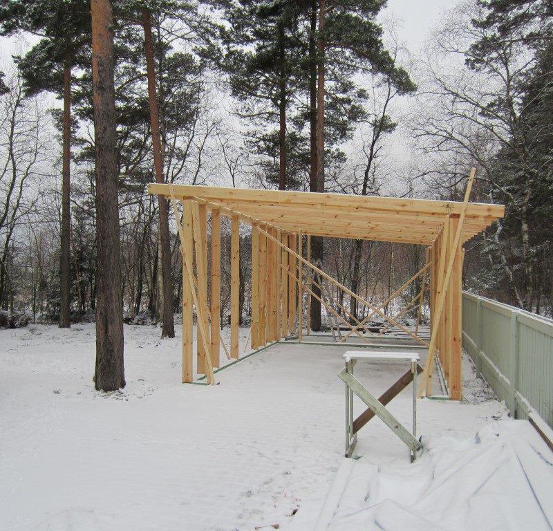Abihoone ehitus
